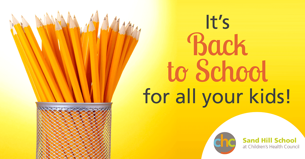 It's back to school for all your kids Sand Hill School