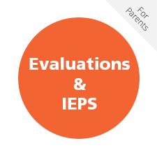 Evaluations & IEPS for Parents
