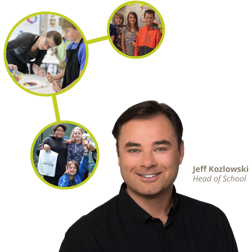 Jeff Kozlowski, Head of School – Sand Hill School